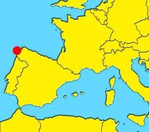 mapa-santiago-compostela-españa