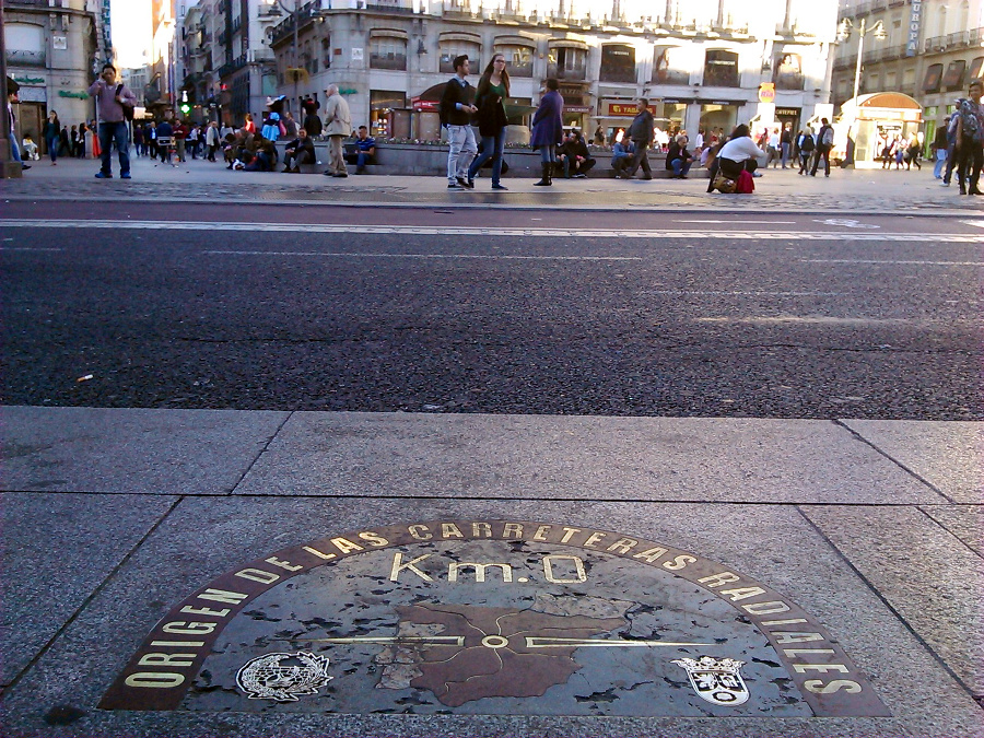 Puerta del sol madrid la pen nsula ib rica for El sol madrid