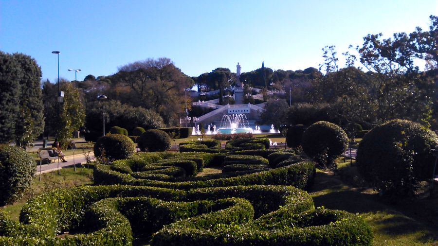 Parque grande de zaragoza la pen nsula ib rica for Jardin zaragoza