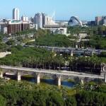 El jardín del Turia (Valencia)
