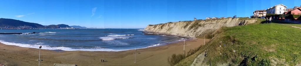 playa y mar getxo