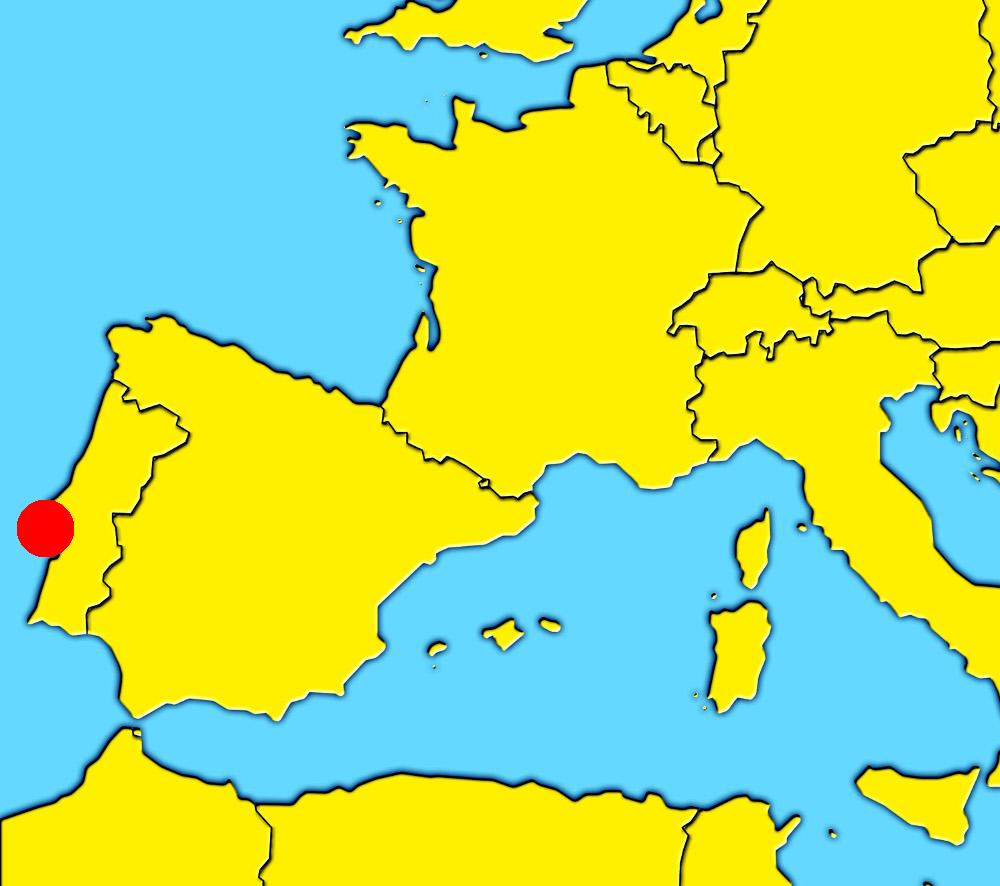 mapa lisboa portugal