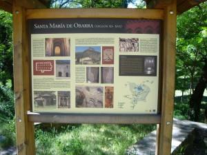 cartel santa maria de obarra