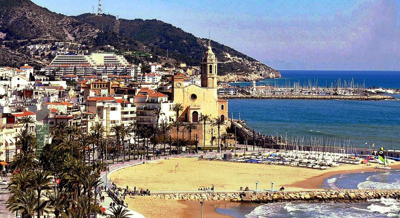Visitando sitges barcelona costa dorada la pen nsula ib rica - Fotos de sitges barcelona ...