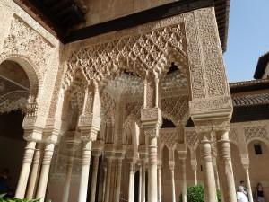 columnas alhambra