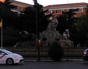 estatua fuente de cibeles