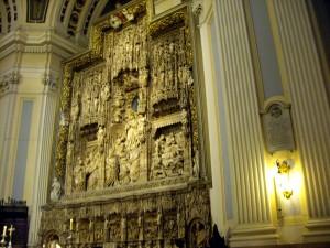 interior basilica pilar