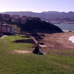 Getxo (Guecho): Playa y mar al lado de Bilbao
