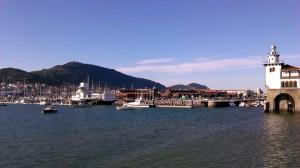 guecho puerto y barcos