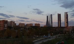 los cuatro rascacielos de madrid