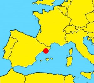 mapa barcelona españa