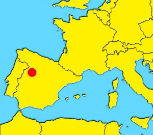mapa salamanca españa
