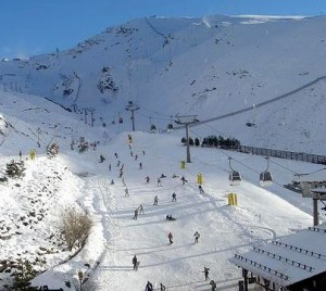 pista de esqui