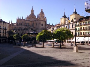 plaza mayor segovia
