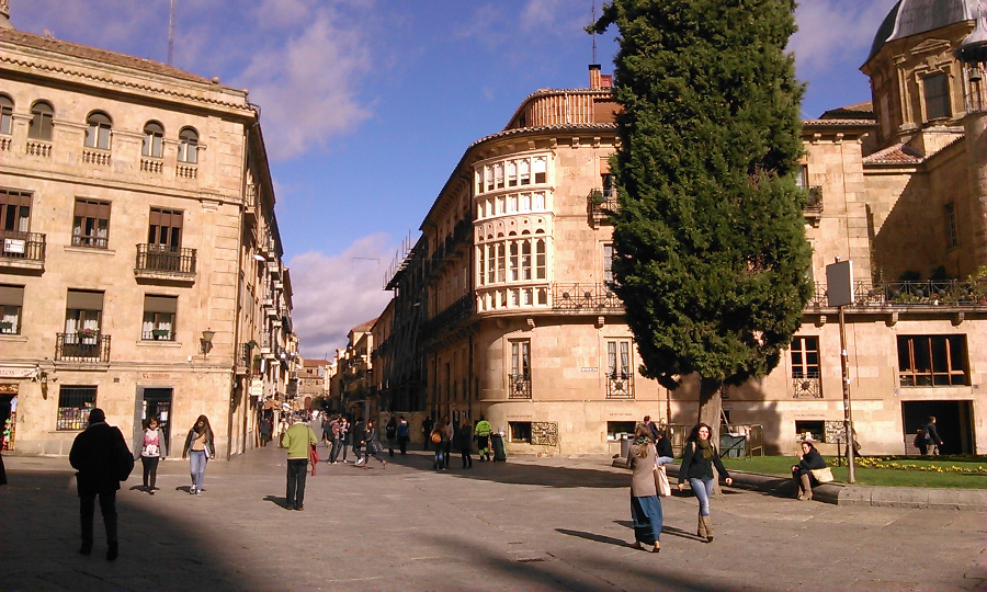 rua mayor salamanca