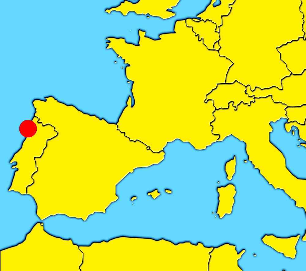 Oporto En El Mapa.Oporto Que Ver En La Ciudad De Oporto Portugal La Peninsula Iberica